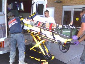 injured-man-ambulance